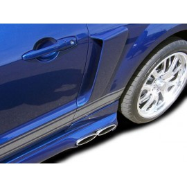 2005-2009 Ford Mustang Couture Polyurethane Urethane CVX Side Scoop