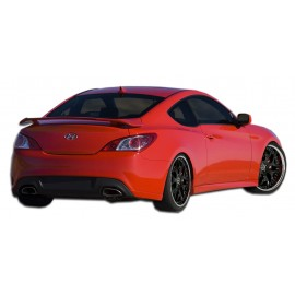 2010-2016 Hyundai Genesis Coupe Extreme Dimensions Polyurethane K-Design Rear Add Ons Spat Bumper Extensions