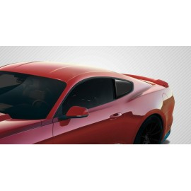 2015-2020 Ford Mustang Carbon Creations Carbon Fiber R-Spec Window Scoop