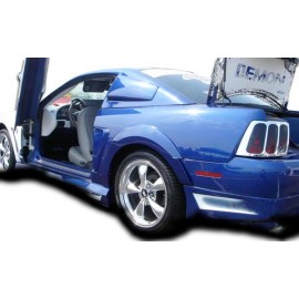 1999-2004 Ford Mustang Couture Polyurethane Urethane Demon Rear Fender Flares